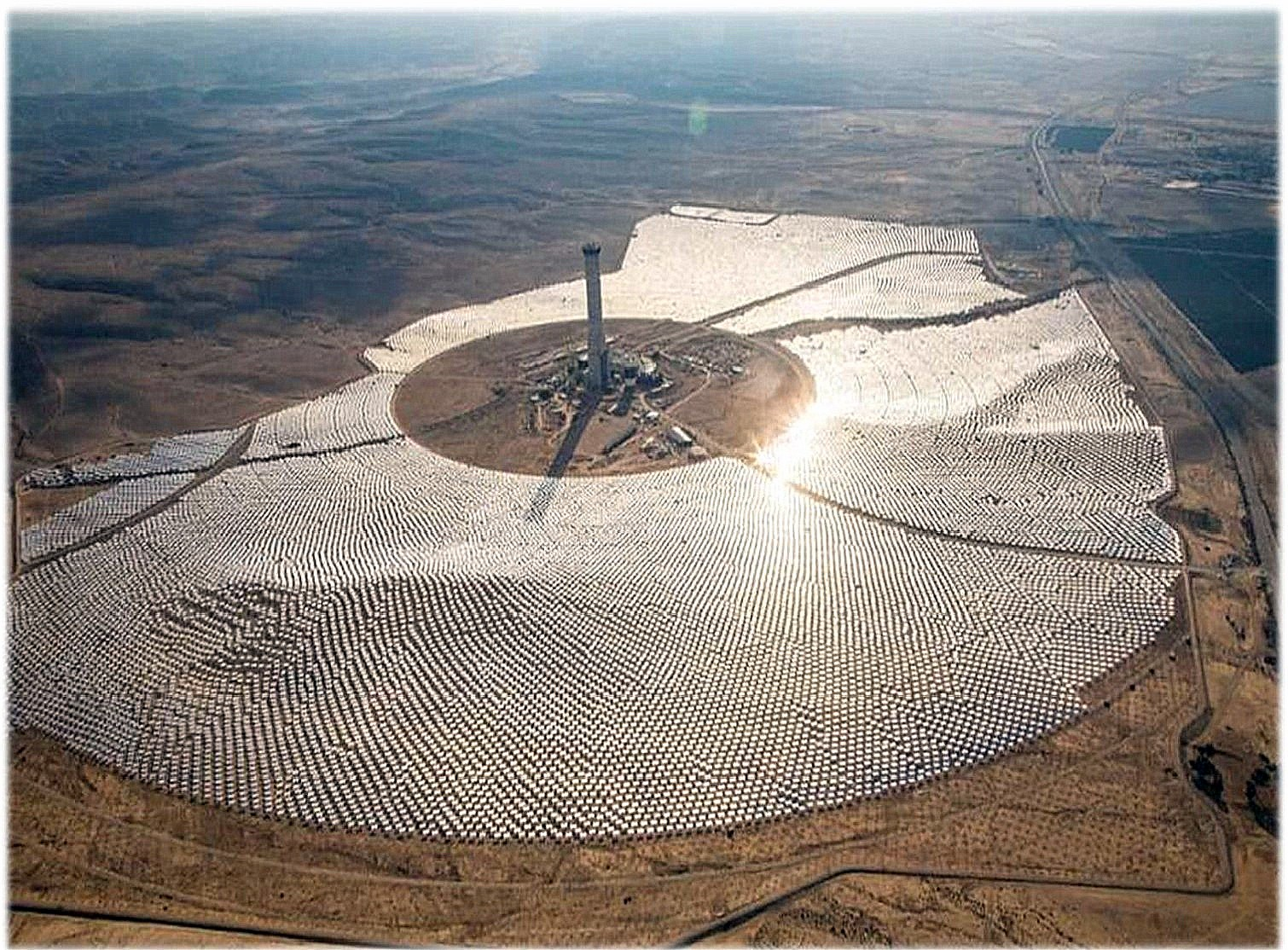 solar energy field in ramat hanegev