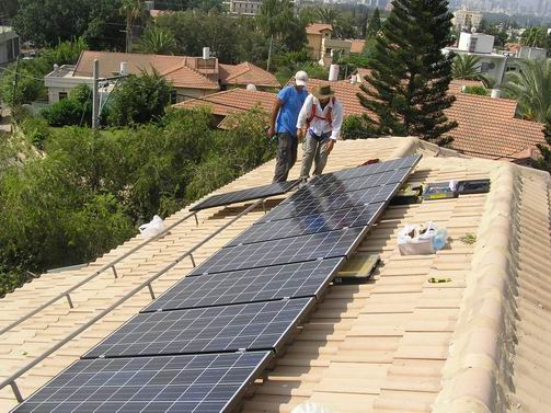 Israeli Households to Get Paid for Producing Solar Electricity