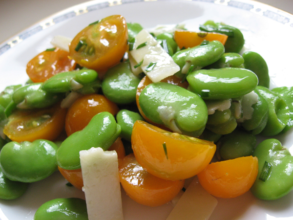 Even Better Fresh? Fava Beans for Your Summer Salads