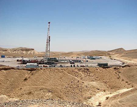 Israel to Start Drilling for Oil in a Nature Reserve
