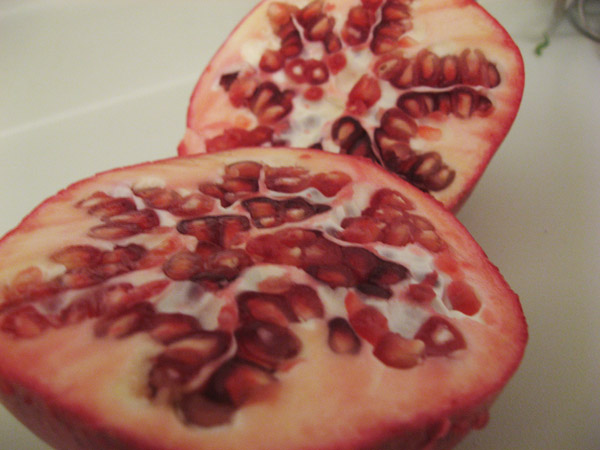 Holiday Recipes, Rosh Hashanah Edition: Pomegranate-Nut Salad