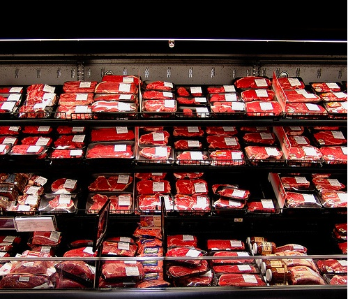 barcode beef organic meat safety bactochem image meat on the shelves