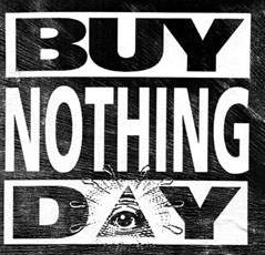 buy nothing day poster image