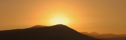 mountain, israel, sunset, vayetzei, eco rabbi picture