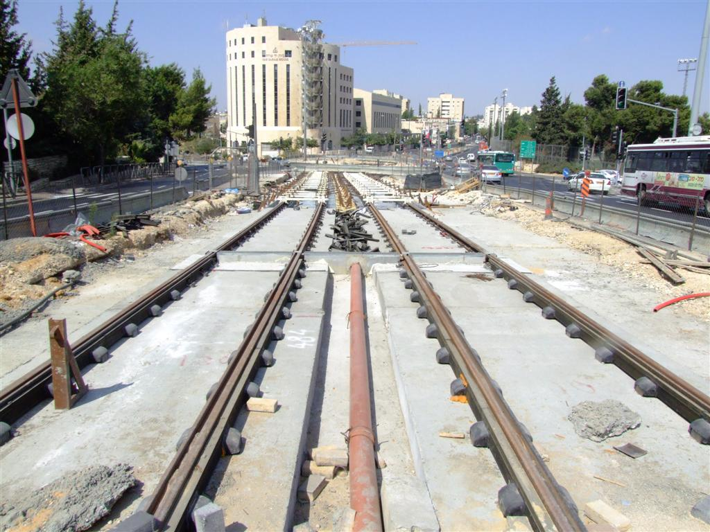 Jerusalem light rail image