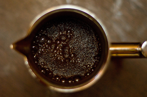 Elite coffee uses leftover beans to power factor