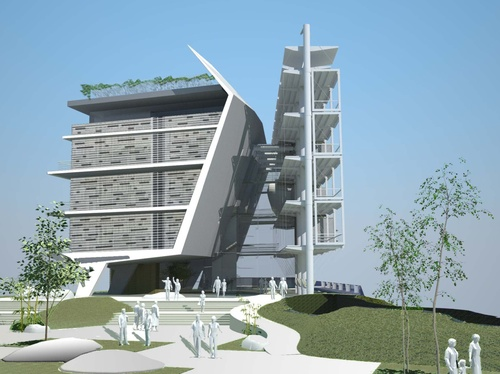 geotectura to build israels greenest building at tel aviv university green prophet
