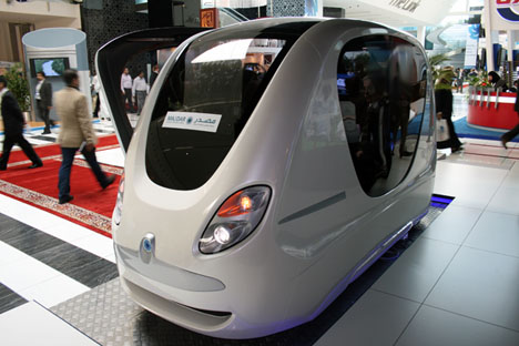Abu Dhabi is Proving Ground for Futuristic Podcar People-Mover