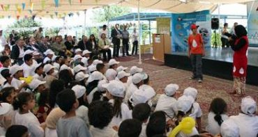 Jordan Water Company Organized Water Festival for Kids, With a Focus on Conservation