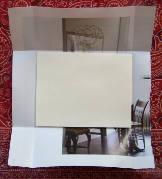 recycled paper envelope