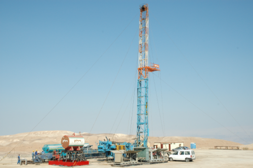 dead sea natural gas drilling?