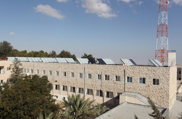 Palestine's First Solar Thermal Plant at Talitha Kumi School in Beit Jala