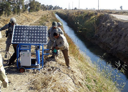 solar energy power idf israel