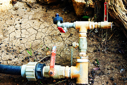 water pipes israel middle east