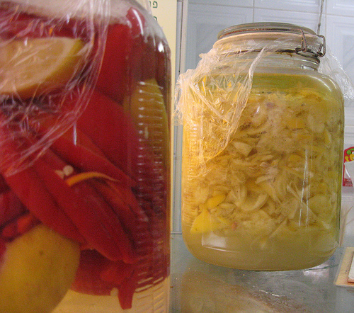 RECIPES: Preserved Lemons as Pickles or in Salt are Yellow and Mellow
