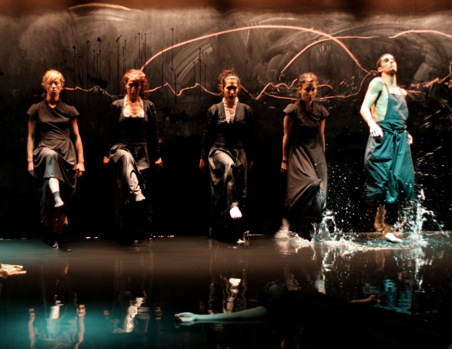 "Performed in Water, ""Trout"" Dance Connects To Nature and Oil's Impact"