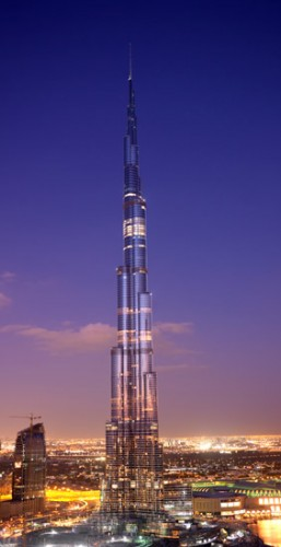 burj dubai towers over the middle east