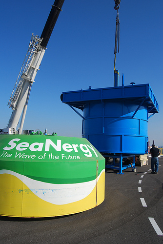 seanergy buoy wave power energy photo
