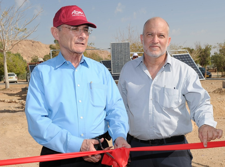 Upbeat Mood at Carbon-Neutral Eilat Energy Event as AORA Solar Leaves Stealth Mode