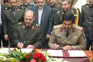 iran iraq sign environment deal