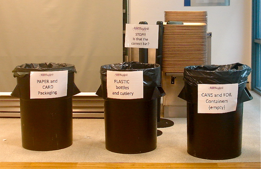 recycling bins uk muslims