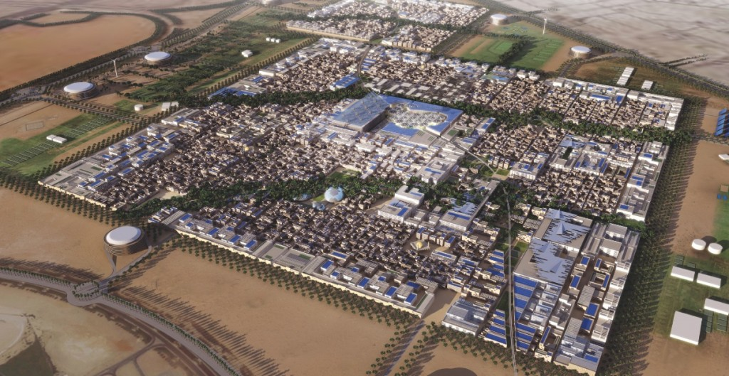 Masdar City built on the profits of oil