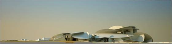 Jean Nouvel's National Museum of Qatar Design