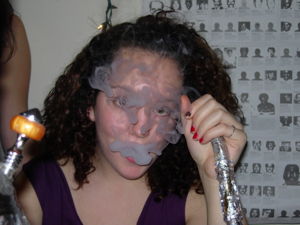 smoking pipe hookah