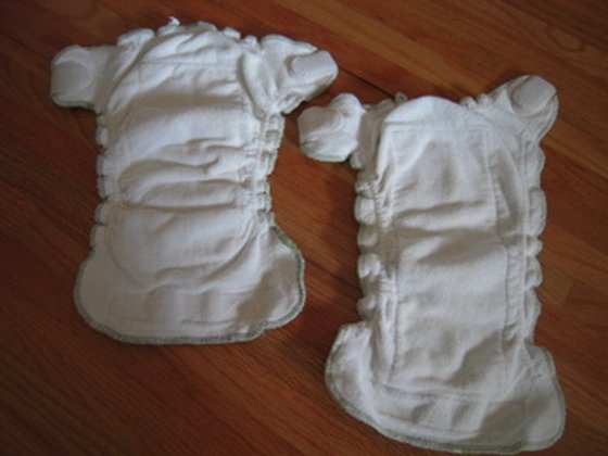 organic cotton diapers photo