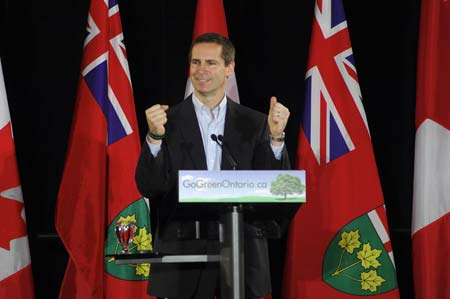 Canadian Politician McGuinty On Cleantech Business Mission to Israel and the West Bank