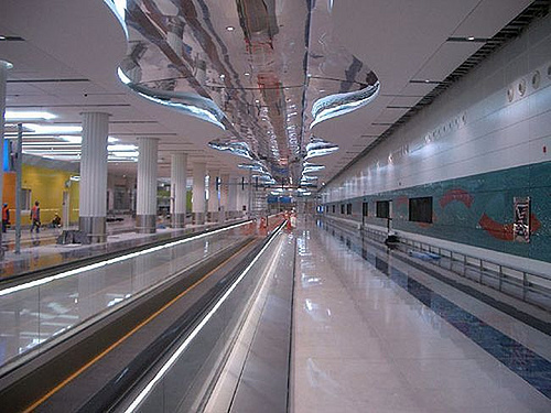 Dubai Metro Expands to Three More Stations, Increasing Ridership