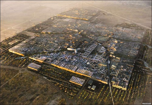 "Masdar ""Zero Carbon"" Super City Breaks Ground This Month in Abu Dhabi"