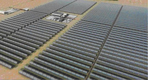 Solar field planned for UAE