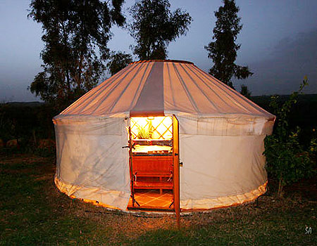 Israeli Eco Tourism Welcomes the Yurt