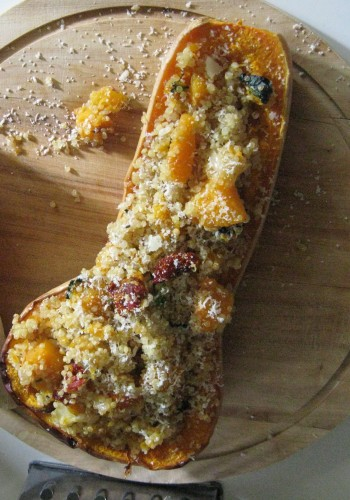 RECIPE: Butternut Squash Stuffed With Quinoa