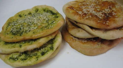 RECIPE: Bake Your Own Za'atar-Topped Pita
