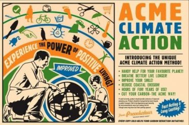 'Acme Climate Action' – The Trainspotting of Environmental Action Books