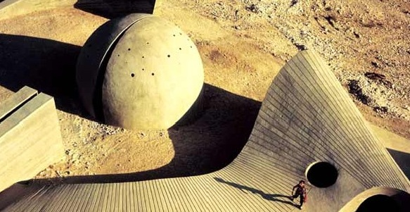 Israeli University Honors Environmental Sculptor Dani Karavan
