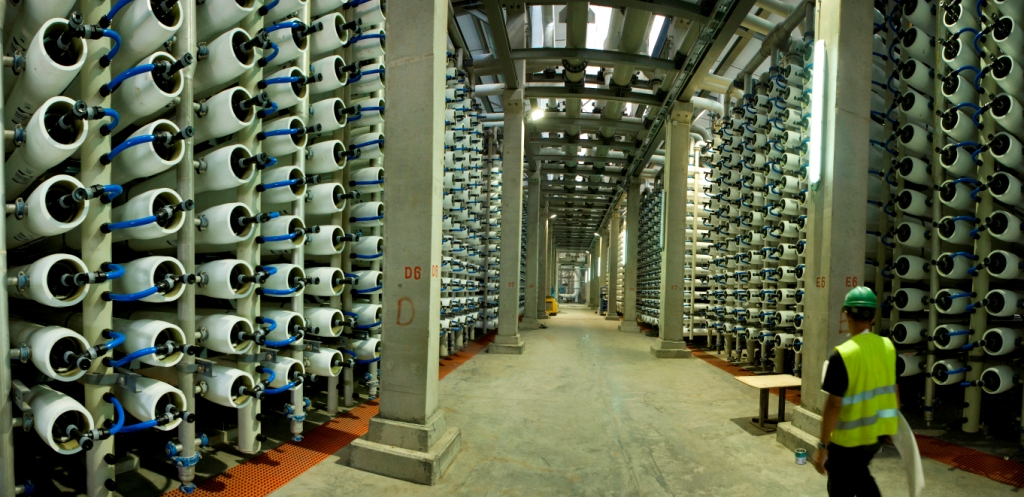 ide technologies desalination plant reverse osmosis