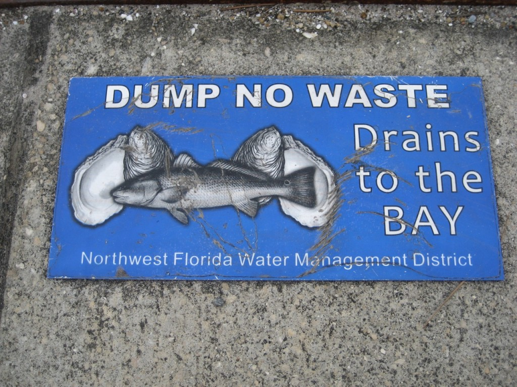 world ocean day oyster sign florida photo