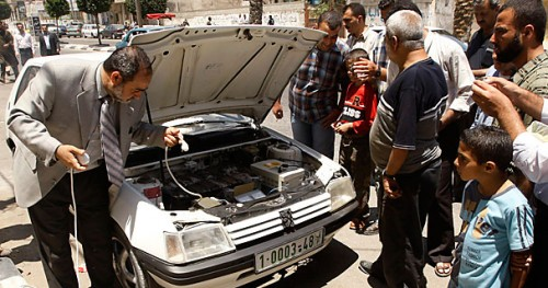 Electric Cars in Gaza: Necessity is the Mother of Invention!