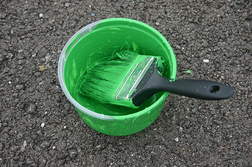 Fresh Paint With EcoOcean: A Splash of Green