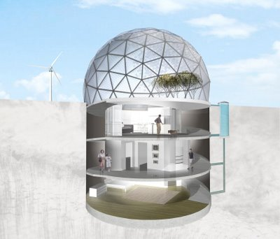 Will You Be A Middle East Climate Refugee? Escape To An Underground Desert Living Unit
