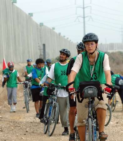 Peace Cycle Takes Bikers Through West Bank