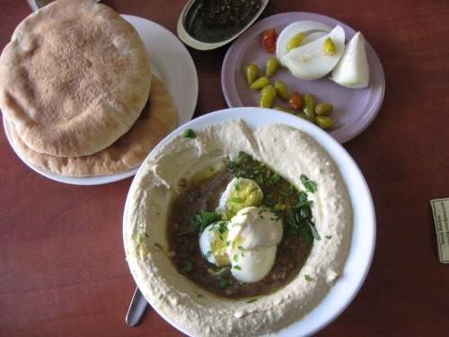 RECIPE: Ful and Choumous, the Middle Eastern Working Man's Lunch