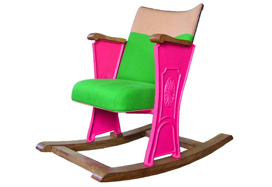 Guy Arzi's Rockin' Chair: Israeli Design