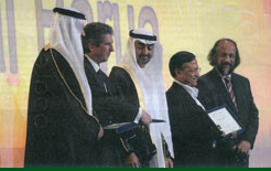 The UAE's Zayed Future Energy Prize Awarded to Bangladesh Solar Power Developer