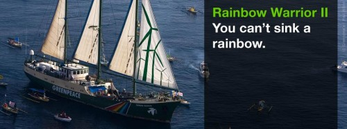 Greenpeace's Flagship, the Rainbow Warrior, to Grace Tel Aviv and Haifa's Harbors