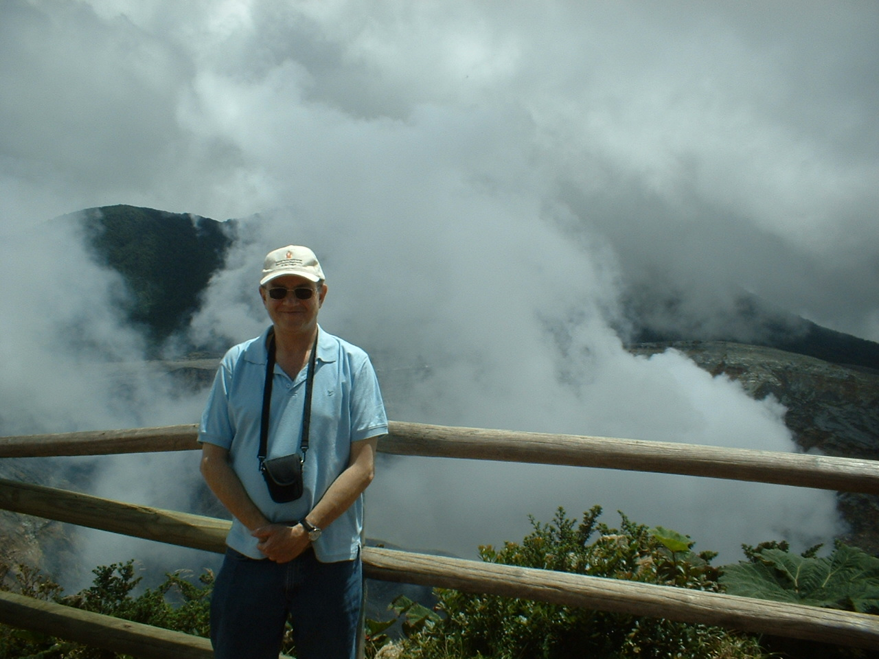 A Blogger's Diary: A Cloud Forest, A Volcano and an Israeli Geographer