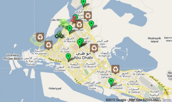 Help the Abu Dhabi Eco-Chicks Map Out a Green Abu Dhabi | Green ...